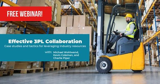 Free Webinar! 3PL Effective Collaboration